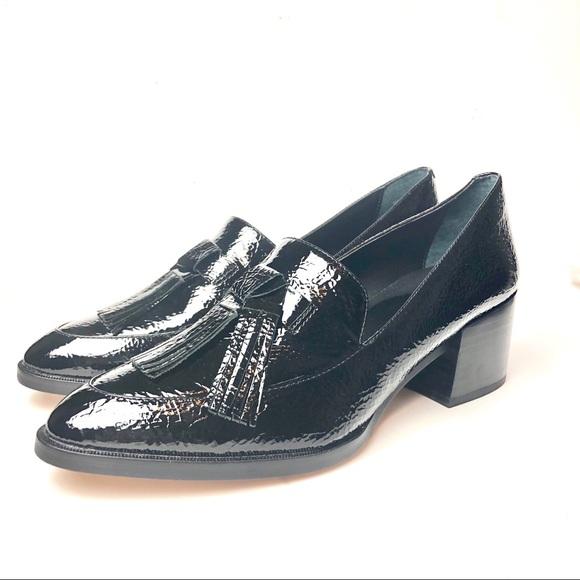 5b8a28fdcf7 Rebecca Minkoff -Edie tassel Block Heel loafer